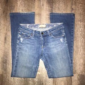 Paige Bootcut Jeans: Size 27